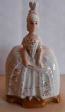 ROSENTHAL SELB  BAVARIA  MINIATURE  PORCELAIN  FIGURINE -FRENCH LADY WITH A  FAN