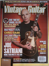 Vintage Guitar Magazine - Back Issue January 2012 Joe Satrian, David Edwards