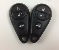 LOT OF 2 SUBARU FORESTER IMPREZA 11-14 KEY LESS ENTRY REMOTE OEM 4-BUTTON 315MHz