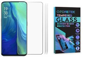2x Oppo Reno 10x Zoom [TEMPERED GLASS] Clear Screen LCD Protector Guard Cover