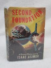 Isaac Asimov SECOND FOUNDATION 1953 Gnome Press, Inc., NY First Edition in BC DJ