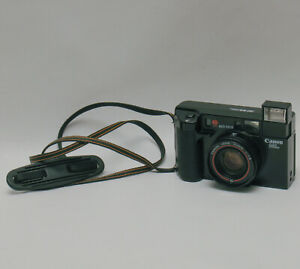 Canon AF35ML 35mm Point & Shoot Film Camera w/ 40mm f/1.9 Lens JAPAN TESTED
