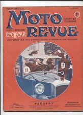 Moto Revue N°151 : 1  juillet 1924  ,compteur et indicateur de vitesse