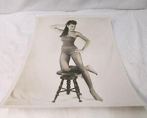 "Vintage & Original  "" Joan ....."" ~ Movie & TV Actress Audition Photo"