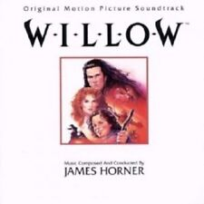 OST/WILLOW (COMPOSED & CONDUCTED BY JAMES HORNER) CD 8 TRACKS SOUNDTRACK NEU