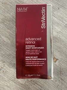 StriVectin Advanced Retinol Intensive Night Moisturizer 1.1 OZ / 33 ML - BOXED