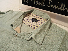 """PAUL SMITH Mens Shirt 🌍 Size L (CHEST 44"""") 🌎 RRP £95+ 📮 FLORAL LIBERTY STYLE"""