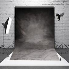 3x1.5m Fotohintergrund Retro Schwarz Fotografie Fotostudio Hintergrundstoff