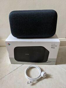 Google Home Max Smart Assistant - Charcoal