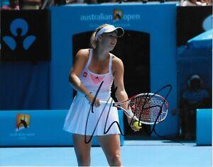 Autographed Caroline Wozniacki Tennis 8x10 Photo Original