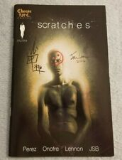 Scratches - 2016 - Cheese Lord Comics - SIGNED / AUTOGRAPHED - Comic Book - RARE