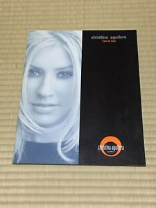 """""""Christina Aguilera"""" Tourbook Live on Tour 2001 Booklet Printed in Japan"""