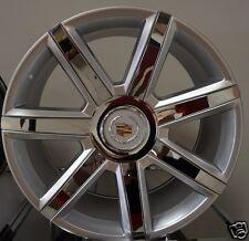 "22"" 2016 Cadillac Escalade Rims Silver/ Chrome Inserts Platinum ESV EXT Wheels"