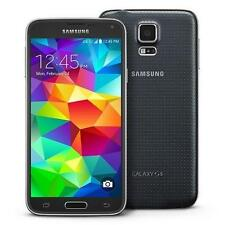 "GALAXY s5 - 16GB - BLACK - BOOST MOBILE 4G LTE NETWORK - GOOD - ""B"" CONDITION"