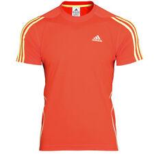 adidas Herren Laufshirt Climalite T-shirt Gr XL orange