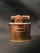 Vintage CMC Continental Lighter Gold Tone Stamped Texure