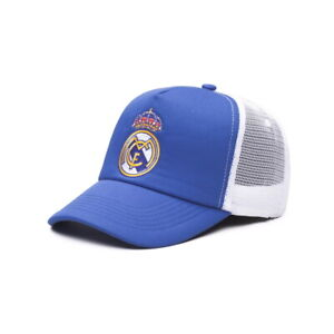 REAL MADRID BLUE & WHITE FAN INK MESH-BACKED HAT