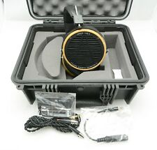 Audeze LCD-2 Over-Ear Open Planar Magnetic Headphones Black/Bamboo w/Case