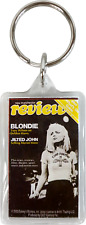 Keychain - Blondie Review Magazine Cover Rock Band Music Lucite Fob Keyring 9061