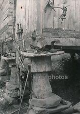 NORVEGE c. 1950 - Pilotis Fondations Bois Pierres Norway - DIV382
