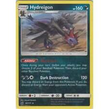 HYDREIGON 62/111 SM CRIMSON INVASION POKEMON REV HOLO RARE CARD NEW MINT