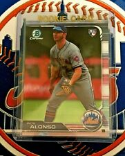 PETE ALONSO RC 2019 Bowman CHROME Card# 48 New York Mets Rookie Qty
