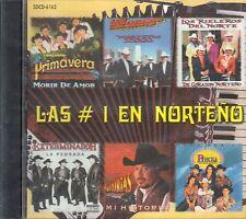 Conjunto Primavera Los Rieleros Del Norte Polo Urias Las Numero Uno CD New