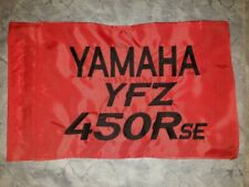 Custom Yamaha YFZ 450R SE Safety Replacement Whip Safety Flag. Fits all whips