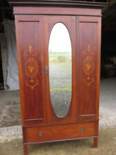 Mahogany Original Edwardian Antique Armoires & Wardrobes