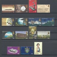 More details for pitcairn islands 1969-75 sg 94/106b mnh cat £20