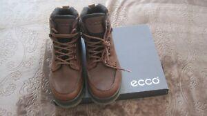 ECCO Track 25 GoreTex NIB Brown  Ankle Boots.Size US 10- 10.5 (EU 44)