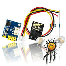 IoT WLan WiFi RGB LED Controller WS2812 + ESP01 + Kabel + Widerstände kompl.