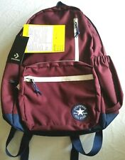Converse Go Backpack Dark Burgundy/Navy/White #10006930   - Free Shipping -