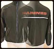 USMC Issue NEW BALANCE PT MARINES Running Suit ZIP UP JACKET XX SMALL SHORT NEW