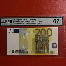 More details for n2 germany 200 euro 2002, unc, j c trichet