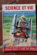 SCIENCE ET VIE N°446 (nov 1954) Les caissons : scaphandres - trains spéciaux