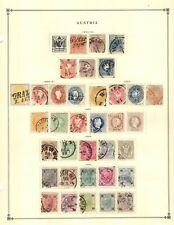 Austria Collection from 1840-1949 Scott Intern Albums