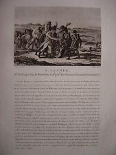 Gravure du Maréchal Jean LANNES Duc de Montebello Né à Lectoure