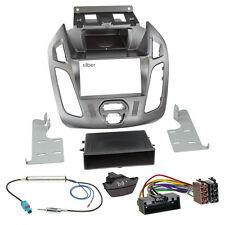 Ford Tourneo Connect pj2 13-18 1-din radio del coche Kit de integracion radio diafragma plata