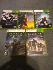 Halo Xbox 360 Bundle - Anniversary 3 4 Wars Reach w/ 3 Poster