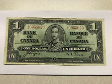1937 Bank of Canada 1 Dollar Note Fine+ #103