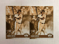 SHOHEI OHTANI LOT OF 2 2018 Diamond Kings BATTING VARIATION SEPIA SP RC's #76!