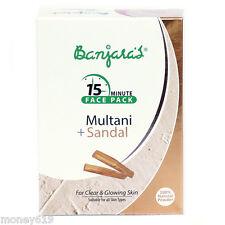 Banjara's 15 Minutes Face Pack Multani Mitti (Fuller's earth) with Sandal 100 gm
