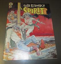 1981 Will Eisner THE SPIRIT #27 Magazine FVF Kitchen Sink