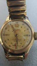 Vintage Women's Bateman Watch 21 Jewels Automatic Wristwatch - Runs