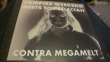 VAMPIRE WEEKEND MEETS TOY SELECTAH ‎– Contra Megamelt CD freebie card sleeve EX