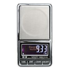 LCD Digital Scale 1000g x 0.1g Jewelry Gold Weight Precise Gram Pocket Scale