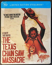 NEW The Texas Chainsaw Massacre Limited Edition SteelBook Best Buy Exclusive