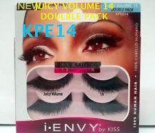 KISS EYELASHES I ENVY JUICY VOLUME 14- KPED14 DOUBLE PACK VALUE PACK EYELASHES