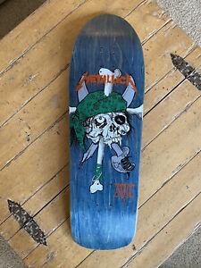 Zorlac Metallica Mint Early 90's Skateboard
